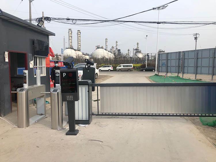 淮南建筑工地实名制通道安装